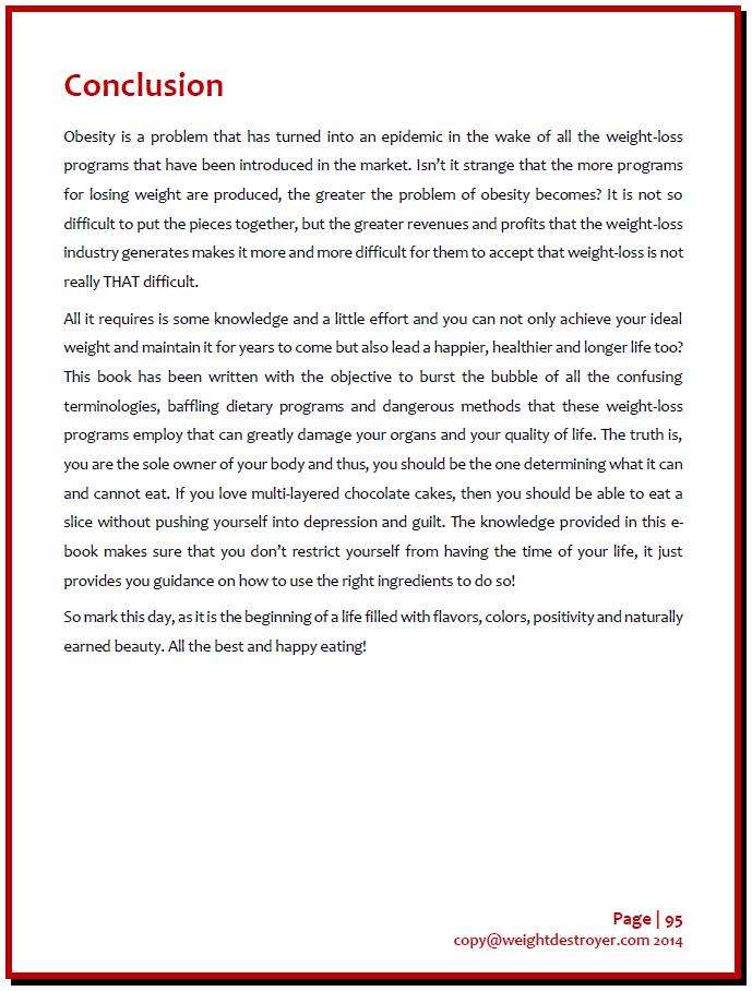 Michael Wren Weight Destroyer Review (Program PDF & Download eBook)